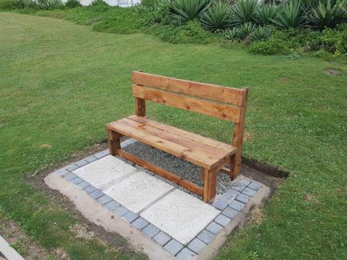Boardwalk Benches Refurbed