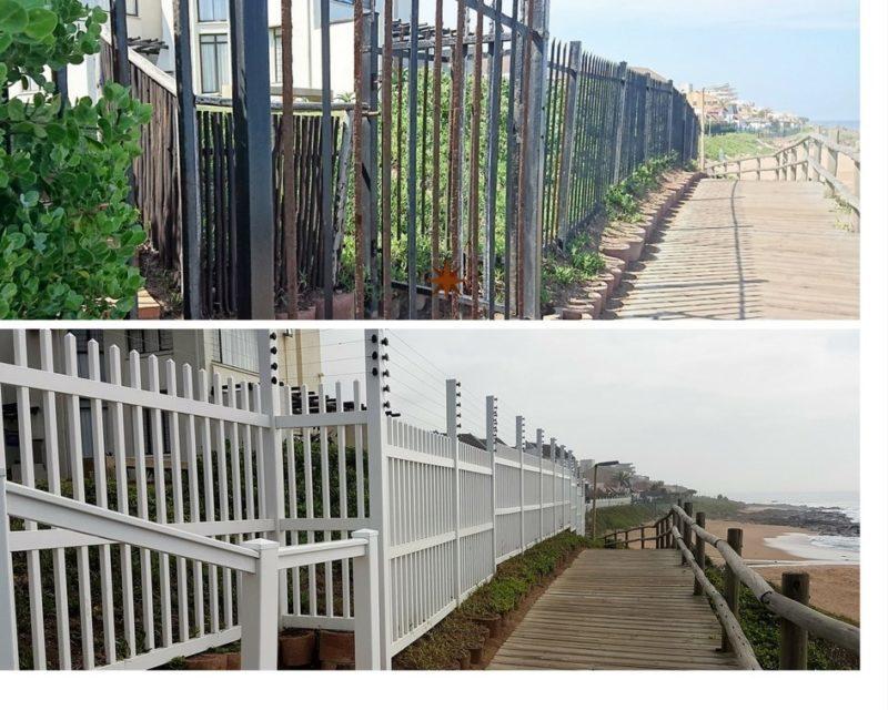 Driftwood & La Mer Upgrade Fence