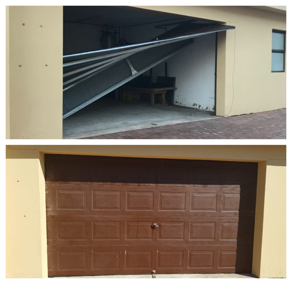 Garage Door At Clarke Bay Lifesavers Repaired Ballito Uip
