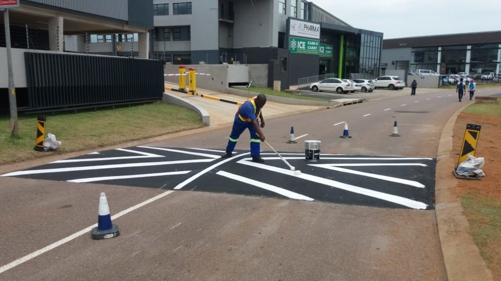 Speed Humps For Business Park