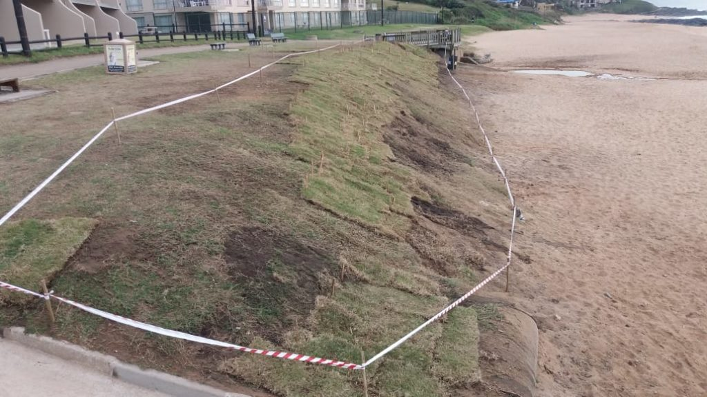 Willards Beach Embankment Rehabilitation Complete